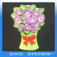 Домашний декор цветочного дизайна Керамический увлажнитель воздуха