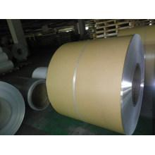 Folha de revestimento de alumínio com papel Kraft para isolamento