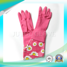 Anti Acid Cleaning Waterproof Work Latex Gloves