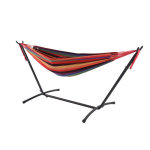 space-saving leisure camping hammock bed
