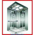 Hairline Stainless Steel 304 Modèle Jambe étroite pour ascenseur de passagers