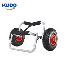 customized logo STAND UP PADDLE BOARD TROLLEY Folding Aluminium sup Cart