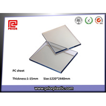 Transparentes PC-Blatt mit hoher Glasübergangstemperatur