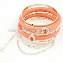 Bracelet imprimé Fashion Imitation Pearl Multilayers Bracelet FB15