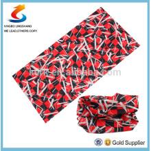 100% Polyester Multifunction customer design sport seamless scarf bandana,in stock