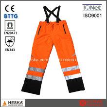 Высокая видимость безопасности водонепроницаемый стандартных Светоотражающий брюки