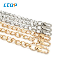 Wholesale Fashion High Quality Metal Gold Plated Bag Link Custom Chains Decoration Iron Chain Selling Chain For Bag