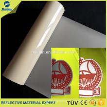 Película reflexiva de la transferencia de calor segmentaria de encargo barata de alta calidad del PVC Prism de la microprisma