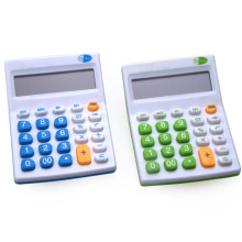 12 Digits Colorful Office Desktop Electronic Calculator