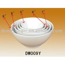 Factory direct wholesale 5pcs ceramic pasta serving bowl
