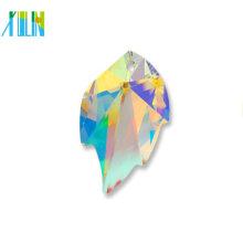 Cristal lapidado facetada moda jóias pingente de cristal fada colar