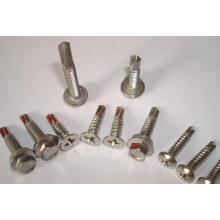 Fasteners Stainless Steel Flat Head Bolts