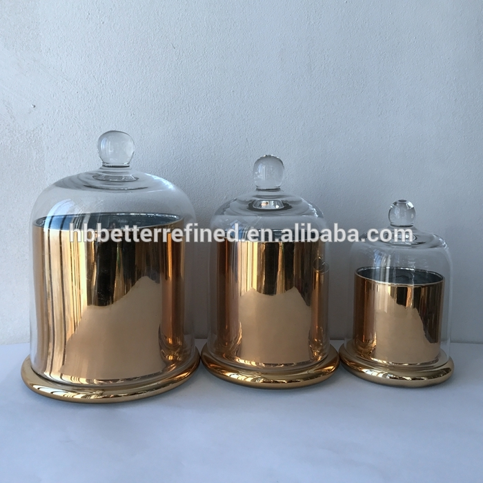 Br 9980 1custom Made Decorative Glass Jars For Candle Making
