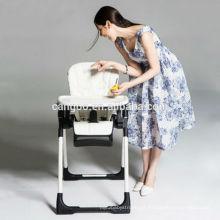 Multifuncional belo design K e D bebê cadeira alta plástico para o restaurante