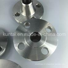 Bride forgée de soudure de cou de soudure de bâti d'acier inoxydable d'ANSI DIN (KT0375)
