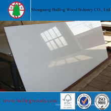 White Color Plain Waterproof Chipboard