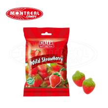 delicioso caramelo gomoso halal de fresa personalizado