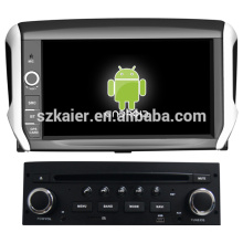 pantalla capacitiva dual core android 4.2 OS car gps para Peugeot 208 con GPS / Bluetooth / TV / 3G / WIFI