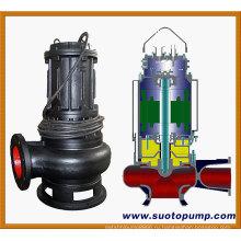 Центробежный погружной насос для сточных вод (WQ)