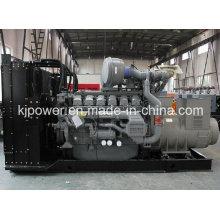 Gerador de energia silenciosa 1000kw com motor diesel Perkins