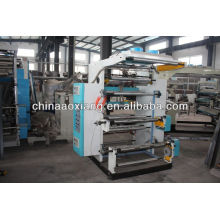 YT-2600 Two Colors Plastic film roll to roll flyer printing machine