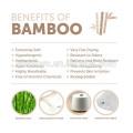 Serviette à capuche en 100% bambou avec des ours molletonnés de première qualité Qualité: Ultra doux et super absorbant, pour les enfants et les bébés Serviette de bain, incroyablement doux