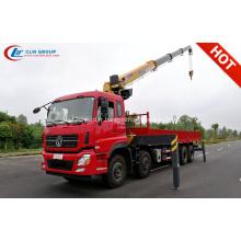 2019 camion de grue industrielle Dongfeng Tianlong 16 tonnes
