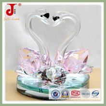Cadeaux animaux en cristal de couleur rose (JD-CW-106)