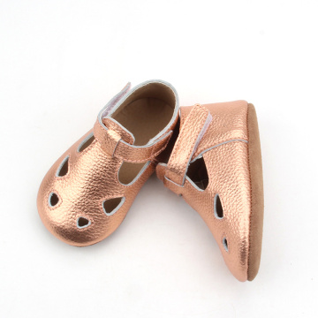 New Style Glitter Baby Chaussures habillées en cuir