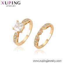15441 Xuping Jewelry Wholesale New Design Ring Set con 18K Anillo de oro