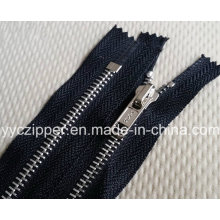 #5 Closed End Metal Zipper for Apparel & Accessories