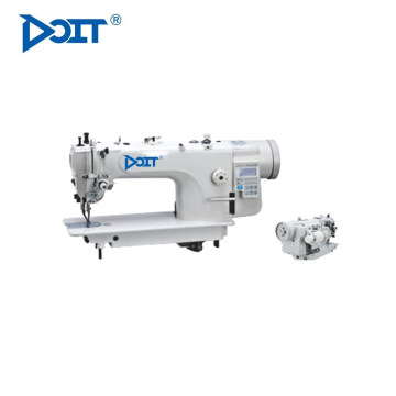 DT 8000 máquina de coser plana de puntada de pespunte superior e inferior de una sola aguja