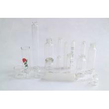 Klar und Amber Cosmetic Glass Fläschchen von Neutral Glasrohr