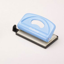 Blue Two Hole Punch