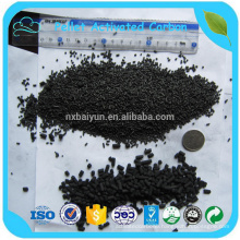 NingXia BaiYun 4.0mm high iodine value column activated carbon price