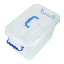 Boîte de rangement en plastique multifonctionnelle en plastique avec poignée (SLSN047)