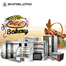 Industrial Bakery Equipment Gas Pita French Electric Bread Oven