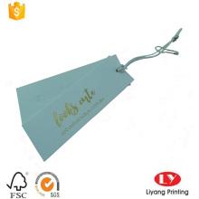 Kundenspezifischer Papiercarment-Schwingenfall-Etikettendruck