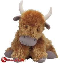 Kundenspezifische OEM-Design Hochland Kuh weichen Spielzeug