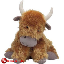 Diseño personalizado de OEM vaca de montaña de juguete suave