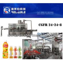 Máquina de engarrafamento do suco de fruto da garrafa do animal de estimação (CGFR24-24-8)