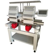 QY-2-CT computergesteuerte Doppelkopf-Stickmaschine, automatische Hochgeschwindigkeits-Stickmaschine