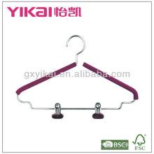 EVA foam hanger with metal clips