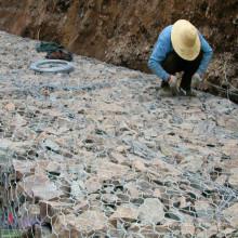 Cesta galvanizada de Gabion da boa qualidade da fonte de China