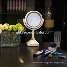 2017 hot new products bluetooth speaker music mirror LED makeup mirror with led light 5X magnification cosmetic mirror
