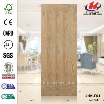 Wood Grain Red Oak Flat Door Skin