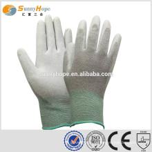 Pu beschichtete Handschuhe antistatische PU getauchte Arbeitshandschuhe