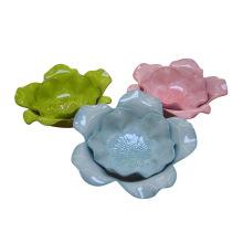 Plat de Lotus en céramique