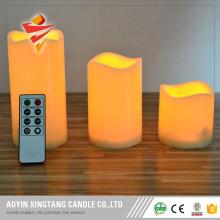 Télécommandes universelles boîte d'emballage bougie LED