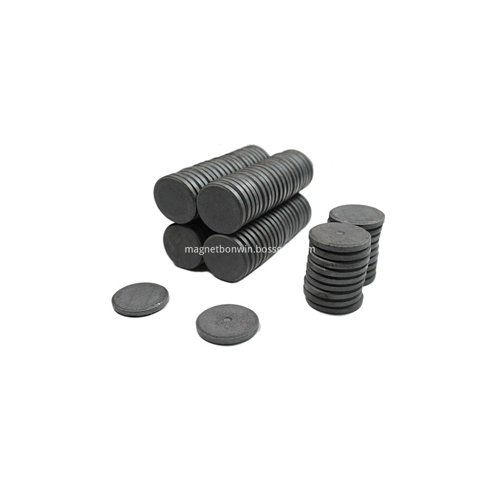Cylinder ferrite magnet